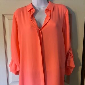 NWOT apt 9 long sleeve thin blouse
